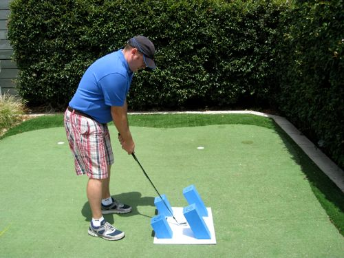 Setting up squarely makes it easier to make a successful golf swing.
